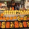 Fresh citrus stand.