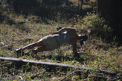 Backpacking Side Planks