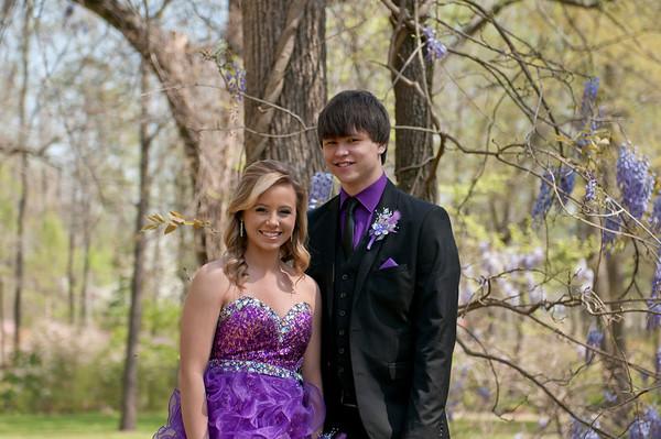 Amanda & Lane Prom 2014