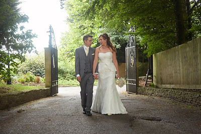Amanda & Matt - Hatton Court Hotel