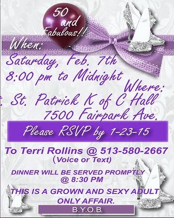Amanda's 50th Birthday Party 020715