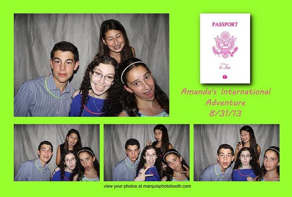 Amanda's Bat Mitzvah 8-30-13