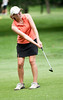 Allie Andrews, St. Louis, MO enjoyed playing her first two rounds with past Champion Ellen Port.