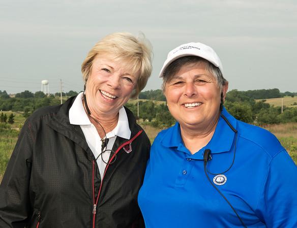 MWGA President with Carol Gillard, KCGA Vice President - Thank you for your volunteers!