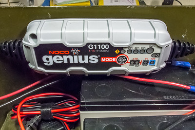 NOCO genius G1100 charger/maintainer