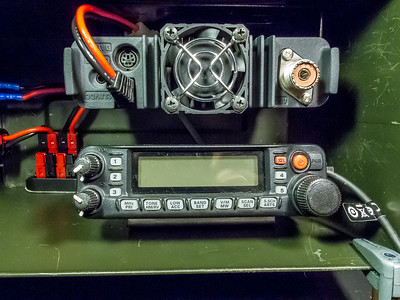 Radio body and control head