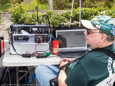 Pat Bunsold, WA6MHZ, President of the Amateur Radio Club of El Cajon.