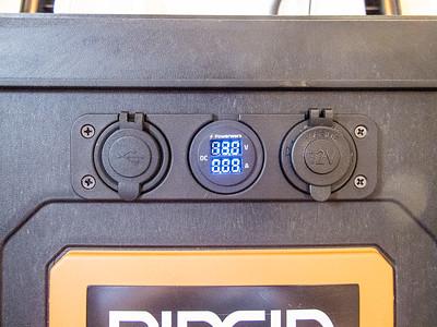 Power test.  Meters work.