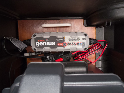 NOCO Genius GG3500 charger/maintainer