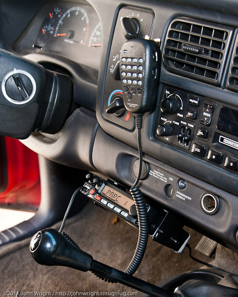 Yaesu FT-1900R installation in my 1998 Dodge Dakota truck