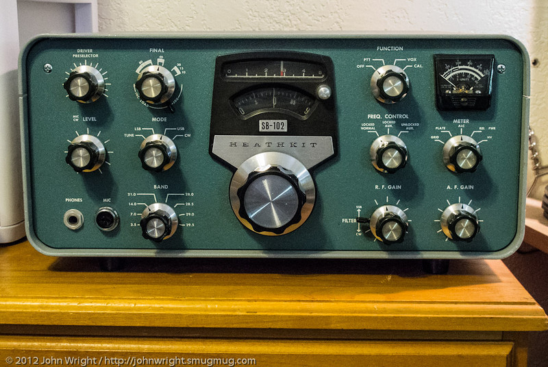 Heathkit SB-102 SSB & CW transciever