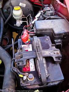 Wiring for the Yaesu FT-1900 installed in my 1998 Dodge Dakota