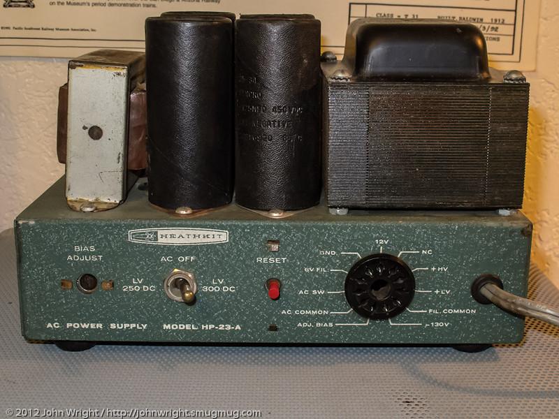 Heathkit HP-23-A power supply.