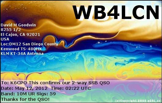 WB4LCN e-QSL