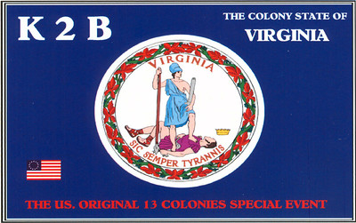 K2B, 2012 13 Original Colonies Special event