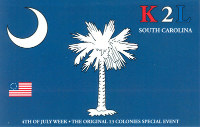 K2L.  2012 13 Original Colonies Special event