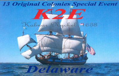 K2E.  2012 13 Original Colonies Special event