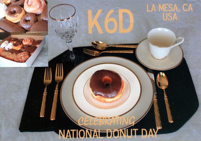 K6D National Donut Day 2011 Special Event