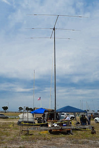 Jim Beckman's station with the Mosley beam antenna