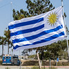 The flag of Uruguay, Nestor's home country