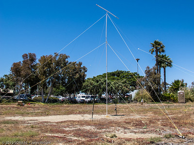 Another view of John Markham's antenna