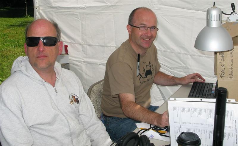 Doug AC7T and David W7CF operating CW