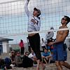 """Beth Van Fleet brings her """"A"""" game on the men's net"""