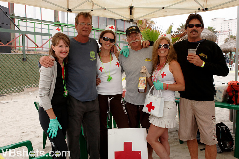 The Rosarito medical team adds the naughty nurses to the staff