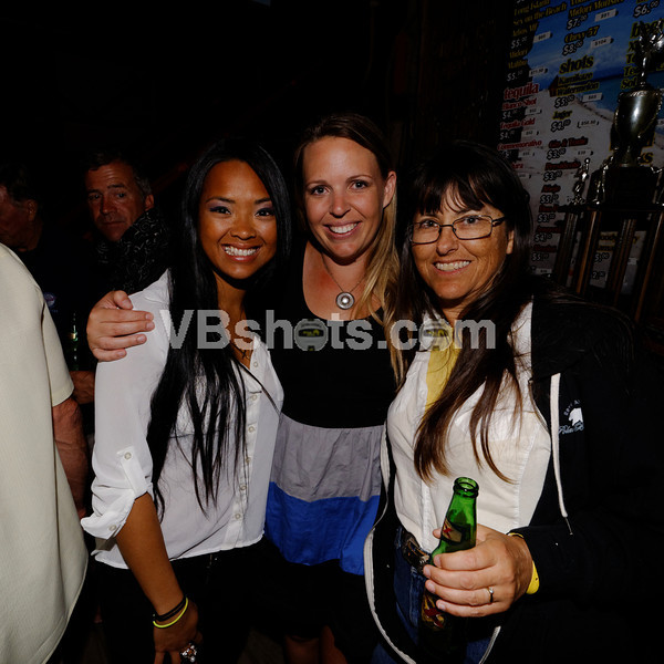Nina Santiago, Meg Powers, Julie Chan