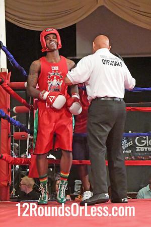 Bout 4 Demelhe Davis, Red Gloves, MLK Premier Boxing, Cleveland -vs