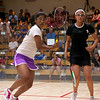 2011 Women's World Junior Squash Championships - 4th Round: Nour El Tayeb (Egypt) and Anaka Alankamony (India)