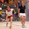 2011 Women's World Junior Squash Championships - 4th Round: Nouran El Torky (Egypt) and Tesni Evans (Wales)