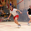 2011 Women's World Junior Squash Championships - 4th Round: Nouran El Torky (Egypt) and Tesni Evans (Wales)