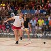 2011 Women's World Junior Squash Championships - Quarterfinals: Amanda Sobhy (USA) and Mariam Metwally (Egypt)