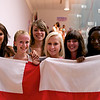 Emily Whitlock (England) and her teammates