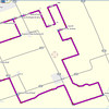 Route and Checkpoint locations plotted in Garmin Mapsource