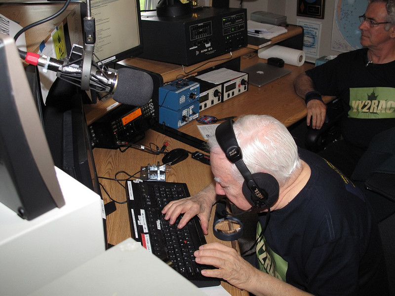 IARU Contest at PEI DX Lodge