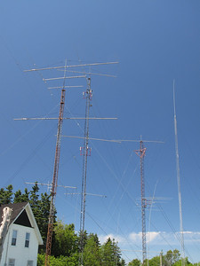 The antenna farm....