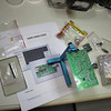 "SWR Analyzer Project by Fox Delta: <a href=""http://products.foxdelta.com/aaz.htm"">http://products.foxdelta.com/aaz.htm</a> .<br /> This kit comes from India. No parts were missing (except for a couple screws maybe...), and all were in  well labeled packages.  All surface mount devices were pre-installed."