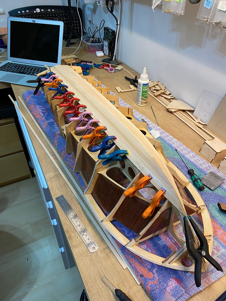 Amati Riva Aquarama build AFB611B5-E083-40C7-ABAB-DA4655039164-X2