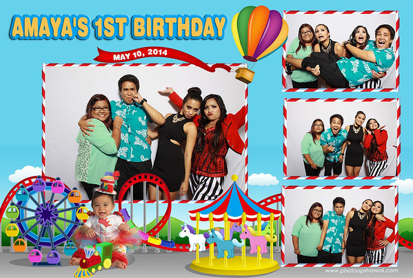 Amaya's 1st Birthday Party (Fusion Portraits)
