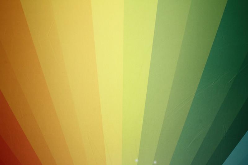 Rainbow backdrop (9 ft wide)