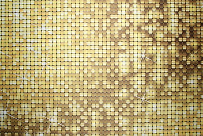 Gold sequin backdrop (9 ft wide)