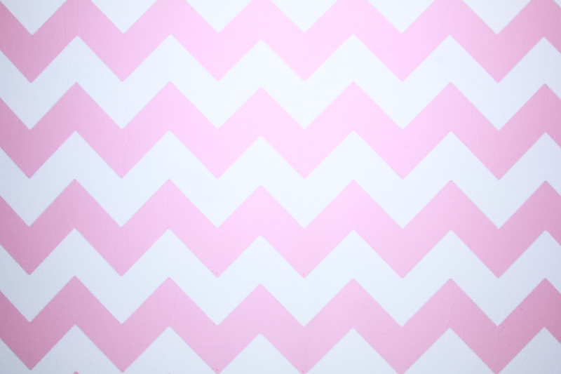 Pink chevron backdrop (Backdrop is 9<br />  ft wide)