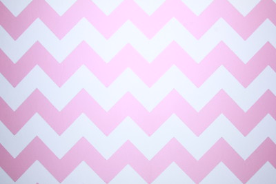 Pink chevron backdrop (Backdrop is 9  ft wide)