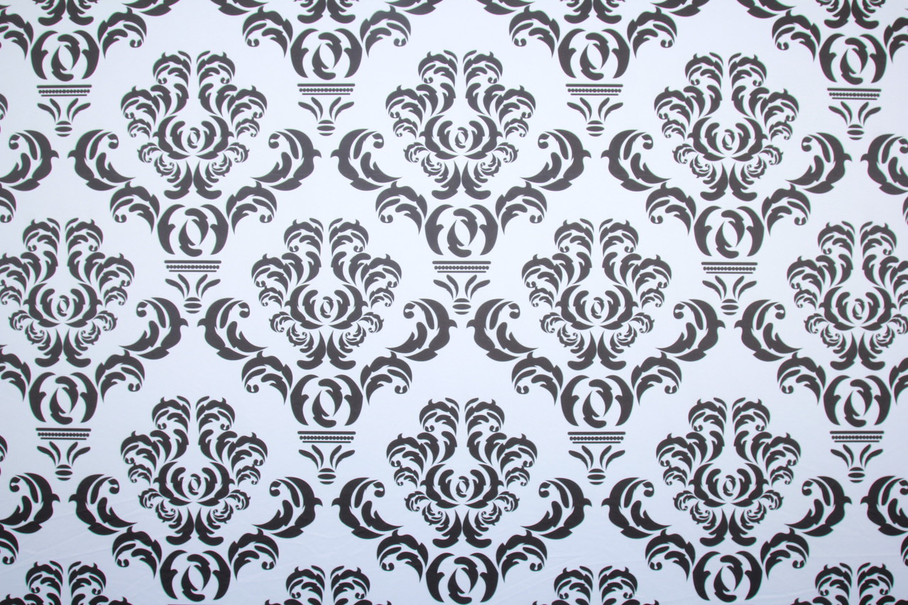 Black damask backdrop (Backdrop is 10 ft wide)