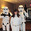 Stormtroopers and Princess Leia Organa