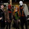 Catwoman, Red Hood, Poison Ivy, and Hush