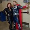 Black Widow and Thor