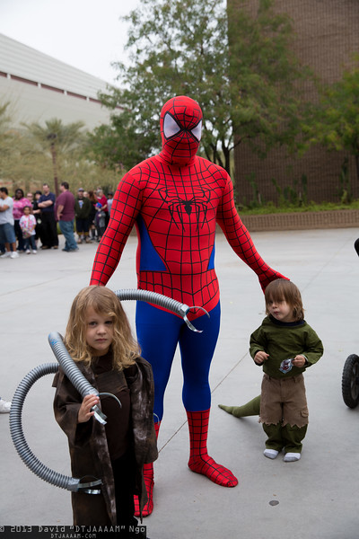 Dr. Octopus, Spider-Man, and Lizard